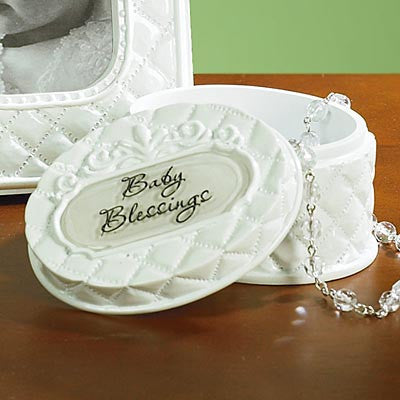 Baby Blessings Trinket Box