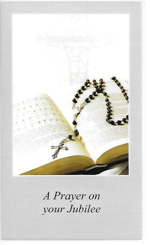 A Prayer on your Jubilee  - St. Patrick's Gift Shop & Bookstore - 1