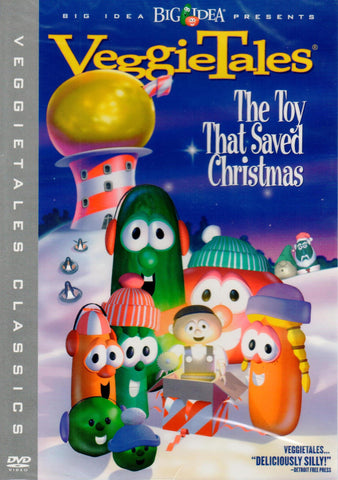 Veggies Tales: The Toy That Saved Christmas  - St. Patrick's Gift Shop & Bookstore