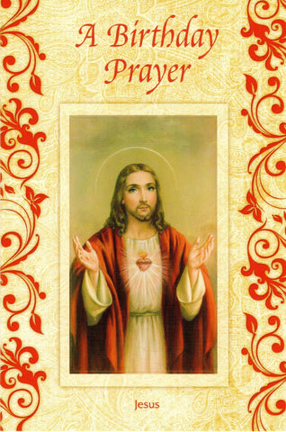 A Birthday Prayer Sacred Heart