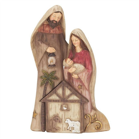 "2-Piece Nesting 8"" Holy Family"