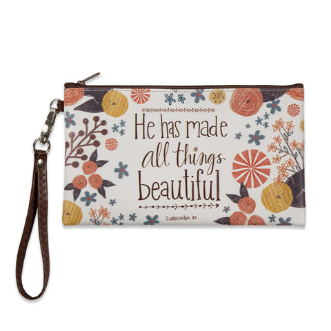 All Things Beautiful Zippered bag