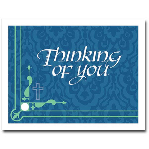 Thinking of You (Blue) Package of 12