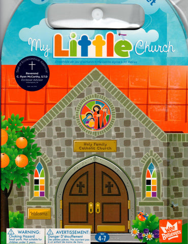 My Little Church 38-Piece Magnet Play Set