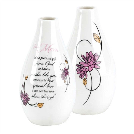 Dear Mom Porcelain Vase - 4.5""