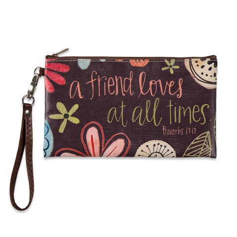 A Friend Loves Zippered Bag