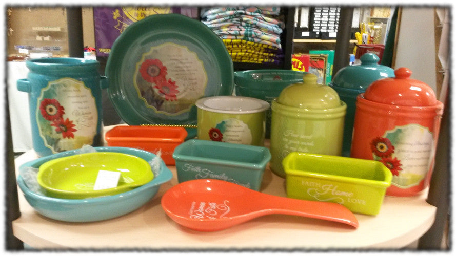 Kitchen and other gifts at St Patrick's Giftshop & Bookstore