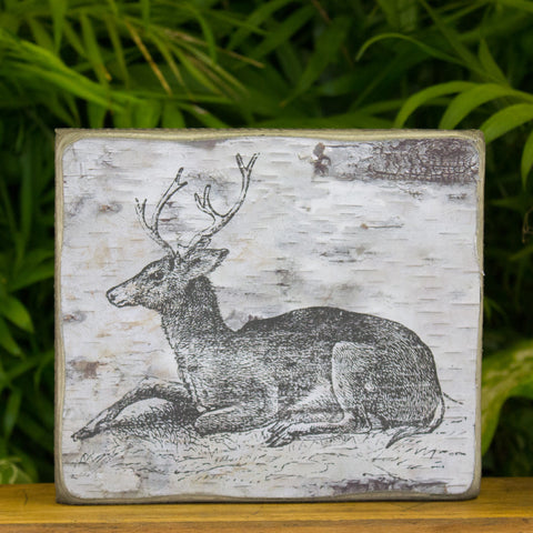 Deer Box Sign