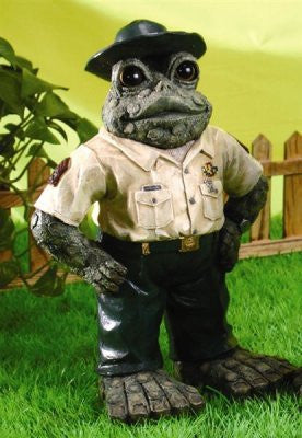 Drill Sergeant Standing Toad