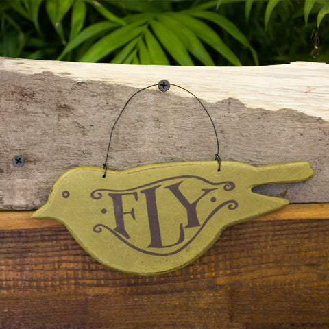 Fly and Soar Baby Bird Ornaments