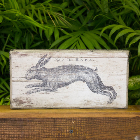 Hare Box Sign