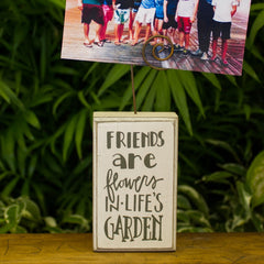 Friends Photo Block Sign