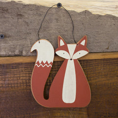 Rusty Fox Hang-Up/Ornament