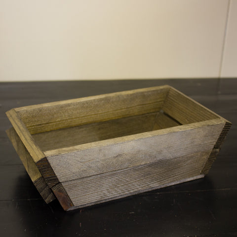 Wood Slanted Box