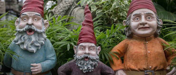 Nice to Gnome You Check out these unique garden gnomes - they really have personality! Buy Now!
