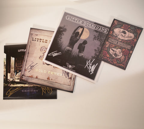 Autographed Vinyl Pack w/Lyric Book