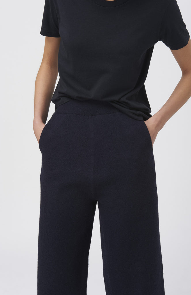 BLAKE LDN Navy Wool Alice Culottes - Pho. London