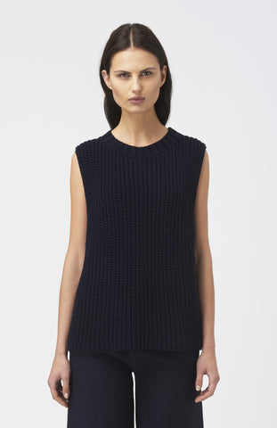 BLAKE LDN Navy Cotton Melrose Tunic - Pho. London