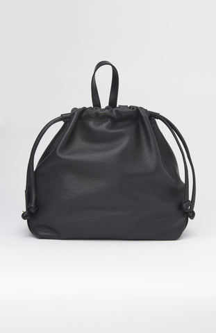 DANIELLE FOSTER Black Leather Bella Backpack - Pho. London
