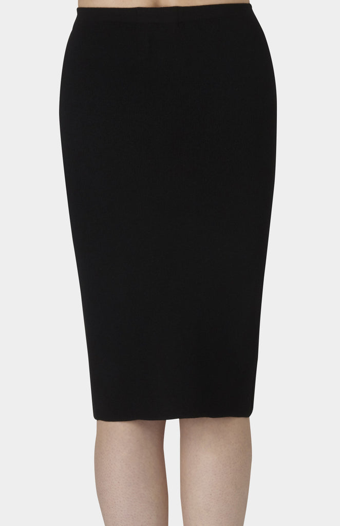NANUSHKA Black Knit Ski Skirt - Pho. London