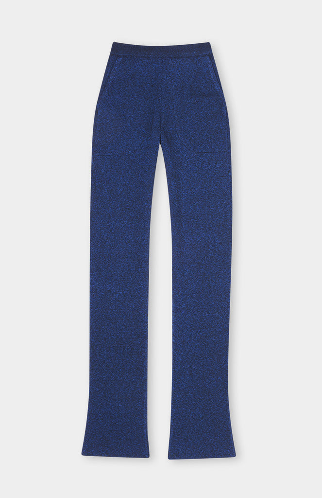 BLAKE LDN Blue Wool Pepe Pants - Pho. London