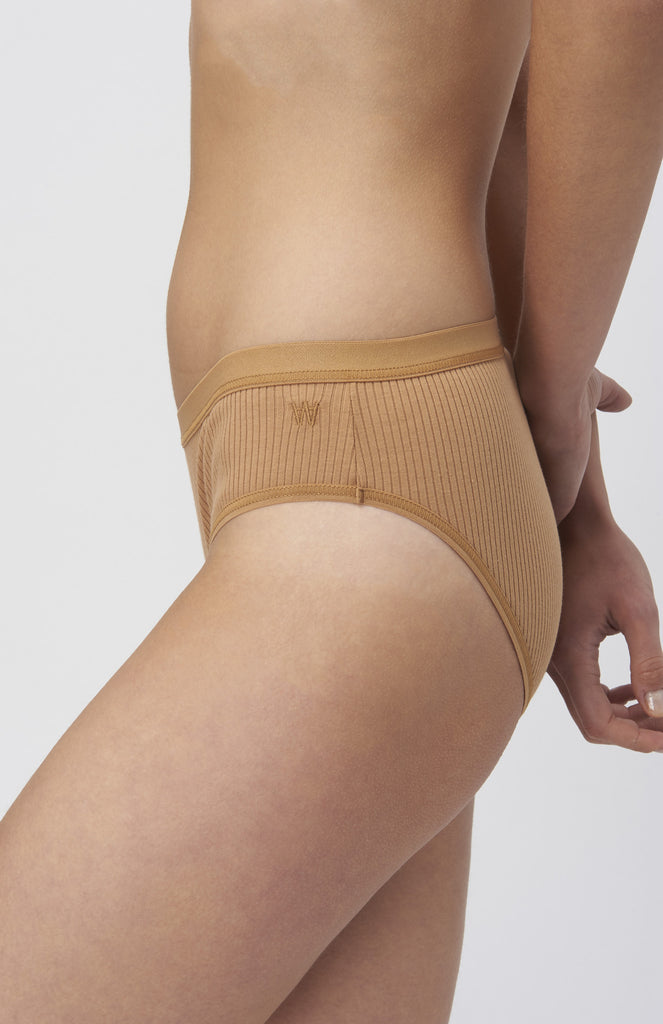 WOOD WOOD Cali Slips Camel Briefs - Pho. London