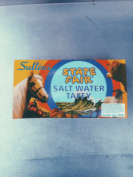 Single Flavor SUTTER'S STATE FAIR SALT WATER TAFFY