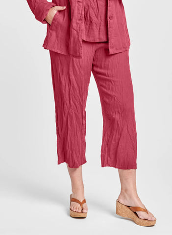 Renewed Flood - wide leg linen pant (FLAX Urban 2021)