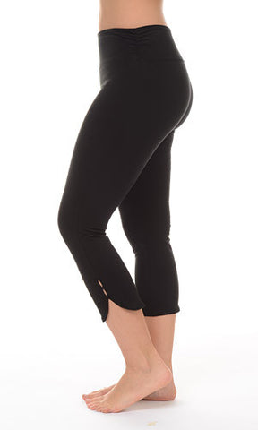 Tummy Control Curved Bottom Capri