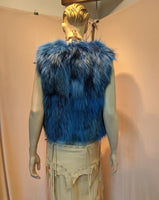 FOX ELECTRIC BLUE SHORT VEST
