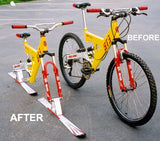 "Clearance Skibike Conversion Kit (without skis) for 26"" mountain bikes"