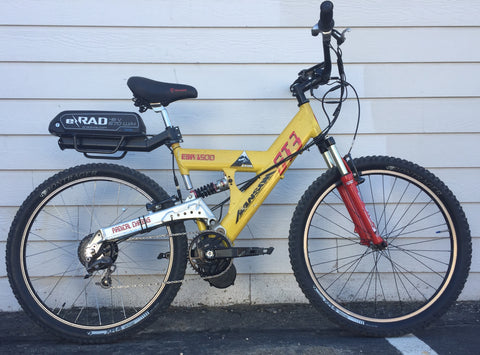 023 Used ST-3 full suspension MTB with 750 watt motor and NuVinci Hub