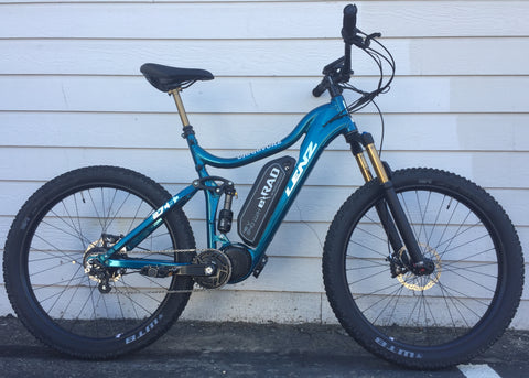 02 Custom Lenz Ohmnivore E-Mountain Bike (special order only, 60 day lead time)