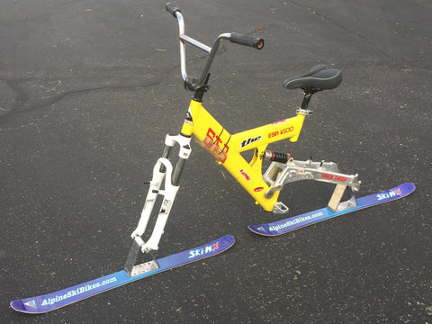 011 Used Full Suspension Skibike with Alpine Ski-MX Kit