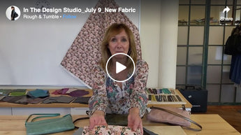 In The Design Studio, July 9, New Fabric