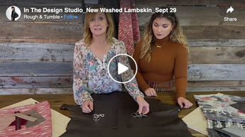 In The Design Studio, New Washed Lambskin, Sept 29