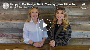 Happy In The Design Studio Tuesday!_New Pillow Tulip_Jan 26