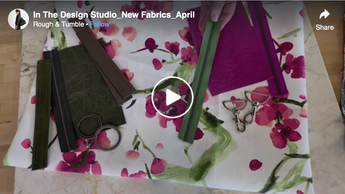 In The Design Studio New Fabrics April