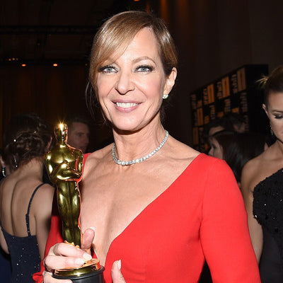 Academy Award-Winning Actor, Allison Janney, Again Spotted Wearing a Maine-Handmade Rough & Tumble Handbag