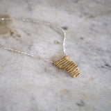 saltgrass husk necklace | two lengths