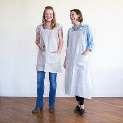 R&T japanese factory apron | natural