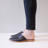 shoe leather flat
