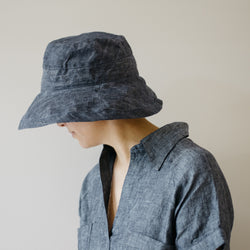 linen hat sun cap boat fisher