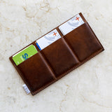 card holder trio | single sided or double sided