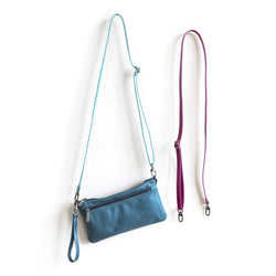 micro adjustable crossbody strap