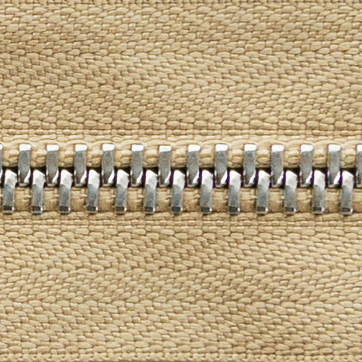 cafe | nickel | zipper swatch