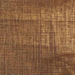 cinnamon lacquered linen | swatch