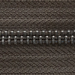 dark brown | antique | zipper swatch