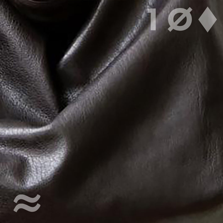 dark brown lambskin | swatch
