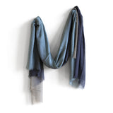 new colors | sheer ombre cashmere & silk scarf